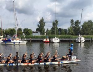 Unterstützer der Drachenboot-Teams des Ostseegymnasiums Greifswald