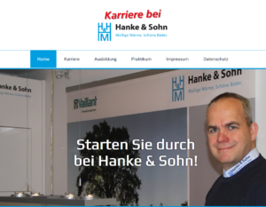 Screen Karriere Hanke&Sohn GmbH